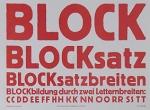 blocksatz